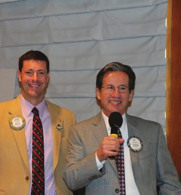 President Dave announced that our new President Elect Elect (PEE) is Ed Lepere.