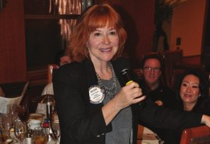 Arleen Sirois talks about Wine to Water.