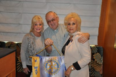 Sally NY Rotarian Paul Schneibs + Annie Noonna (2)