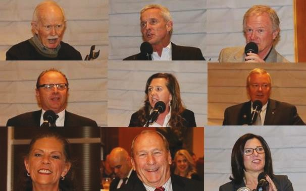 Some of our Club past presidents summarized their year at the Helm.