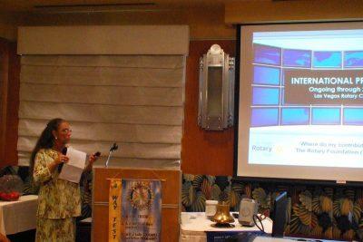 Past President Karen Wisenhunt updates us on the progress of some of our past international grants.
