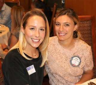 Anna Karabachev shares Rotary with her friend Lara.