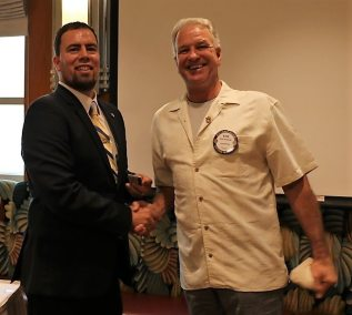 Kirk Alexander won this week's drawing for the Lawry Bucks.