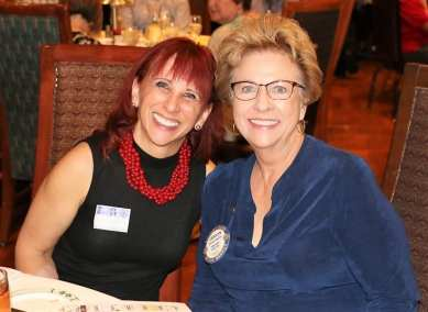 Carolyn Sparks poses with Nancy Rapoport, Special Counsel to the UNLV President.