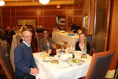Seated at he head table were Paul Maffey, our speaker Joselyn Cousins and Melanie Muldowney.