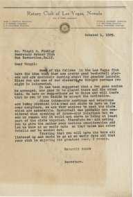 1929 letter