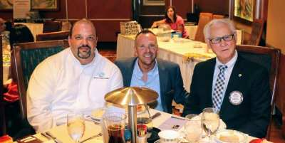 At President Michael's table was Dr. Walt Rulffes, the President and CEO of the Boys and Girls Clubs of Nevada Andy Bischel and his Development Director Clay Buck.