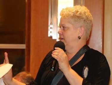 Janice Lencke announced the status of our fundraising raffle.