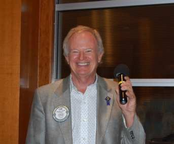 PP Tom Krob reminded members about the upcoming Cigar Social.