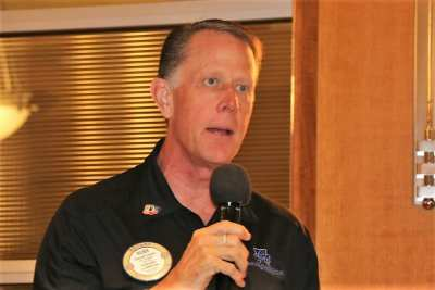 PP Russ Swain announced where to meet for the UNLV football tailgate party.
