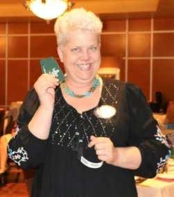 Janice Lencke won the Lawry Bucks.