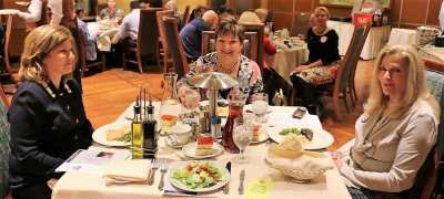 At President Jim's head table were our speaker Judge Susan Johnson, Deb Granda and President Elect Jackie Thornhill.