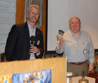 Bob Barnard won the Lawry Bucks.