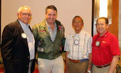 Our memorial day presentations were presented by Ted McAdam, Greg Maguire, Walter Parrish and PP Steve Linder. A great reminder to us all that Freedom is not Free.