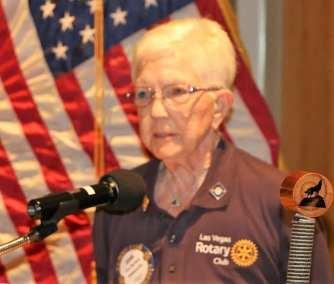 Joan Murdock led the invocation.