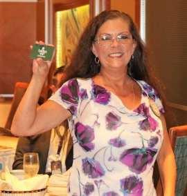 PP Karen Whisenhunt won the Lawry Bucks.