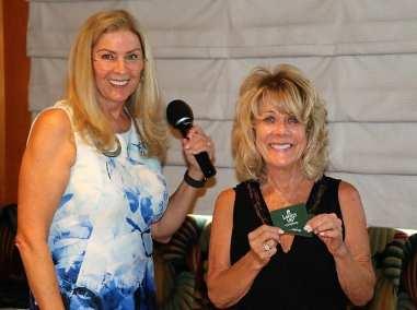 Rose's guest won the Lawry Bucks.