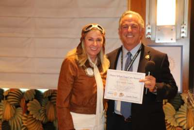President Jackie presented our speaker Sheriff Joe Lombardo our Share What You Can Award.