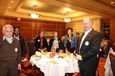 Our birthday day table included Jerry Engel, Kim Nyomi, Carolyn Sparks, Kathy Mahon, Gwen Hall, Hidden Stu Lipoff and Kirk Alexander.