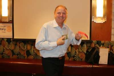 PP Jim Hunt won the weekly drawing for the Lawry's Bucks