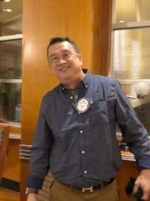 Mike Cudiamat, new Director