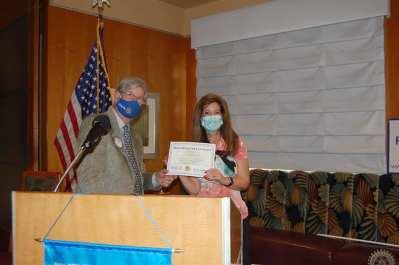 Dr. Niki Bates shares with USO.