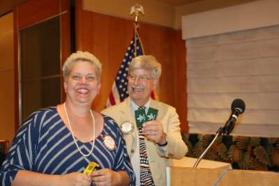 Janice Lencke wins the Lawry bucks