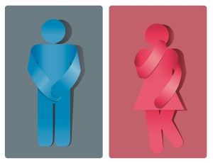 men and women restroom symbols