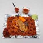 Tiebou dieun diaga (riz au poisson)