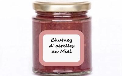 CHUTNEY D'AIRELLES AU MIEL