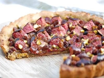 tarte aux fruits pour intolérances et allergies alimentaires