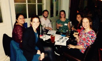 The LATAF team at the quiz