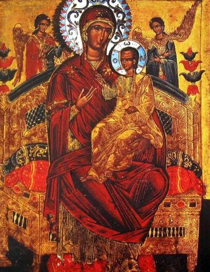 Image result for Sfântă Maică a lui Dumnezeu, Pantanassa