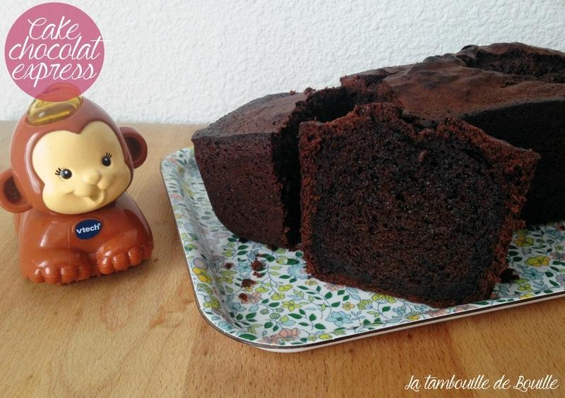 Cake chocolat express et gourmand