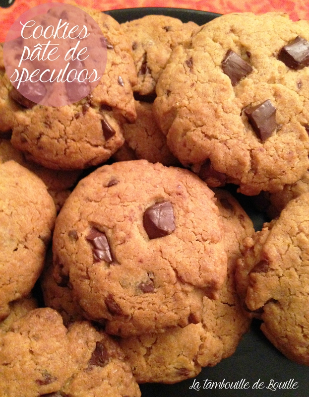 recette-ccokies-facile-pate-speculoos