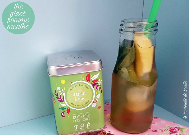 recette-thé-glacé-pomme-menthe-japanlime-maison