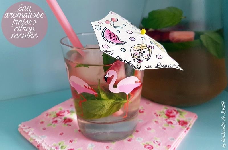 recette-eau-fraise-citron-menthe-maison