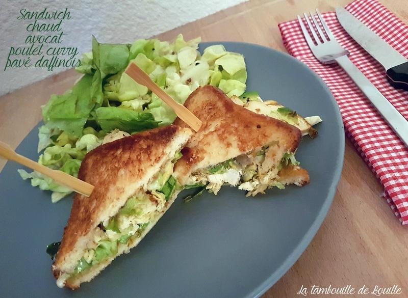 recette-sandwich-chaud-avocat-poulet-fromage