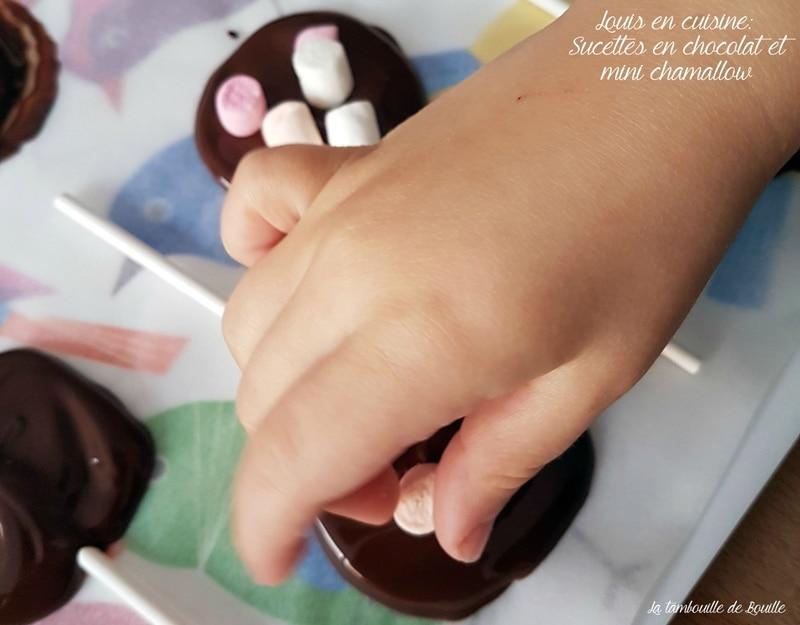 activité-enfant-sucette-chocolat-chamallow