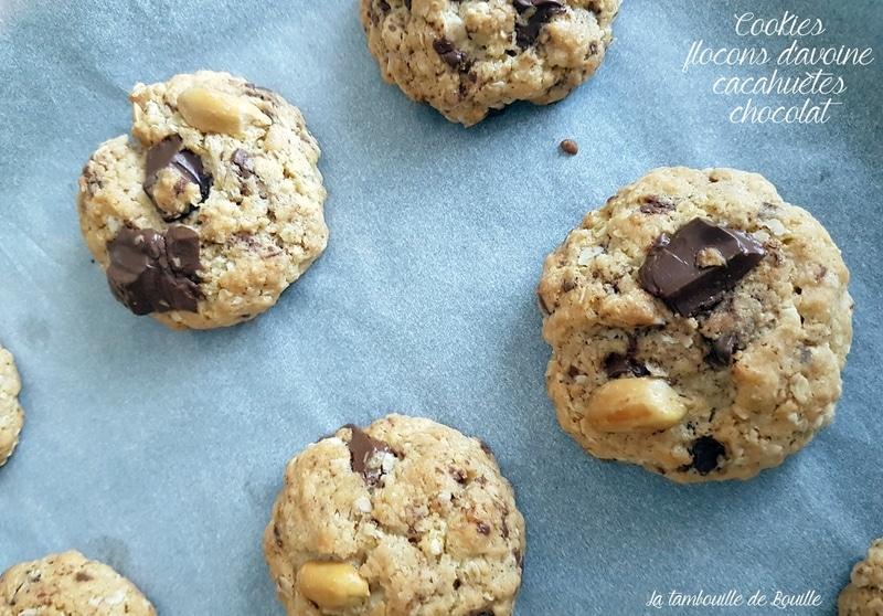 cookies-avoine-cacahuete-chocolat