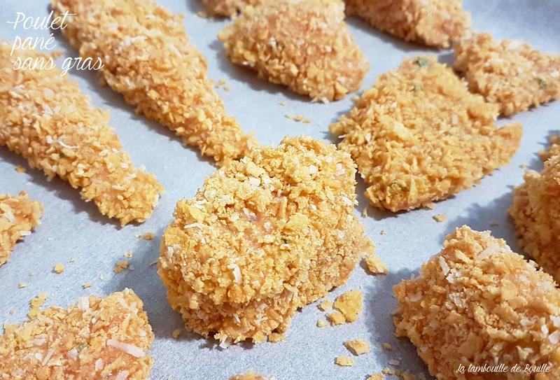 recette-poulet-pané-sans-gras-four