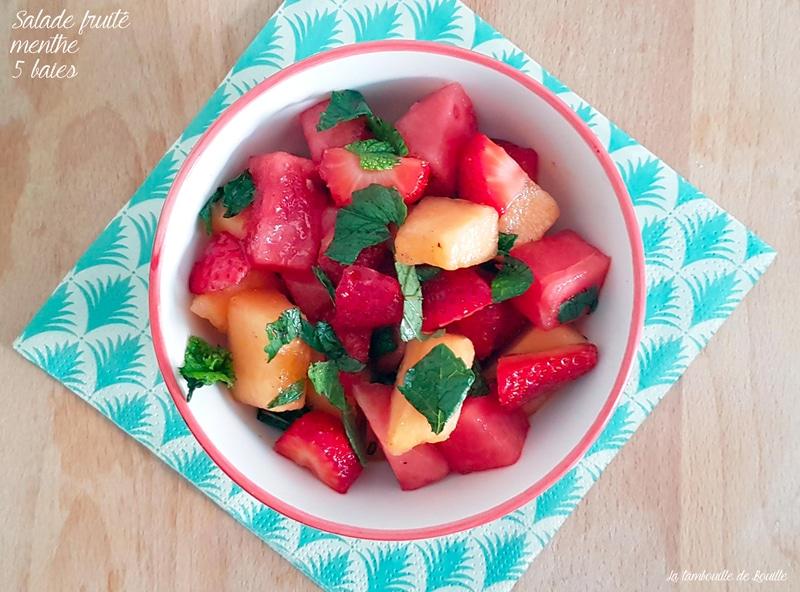 salade-fraise-melon-pasteque-menthe-5baies