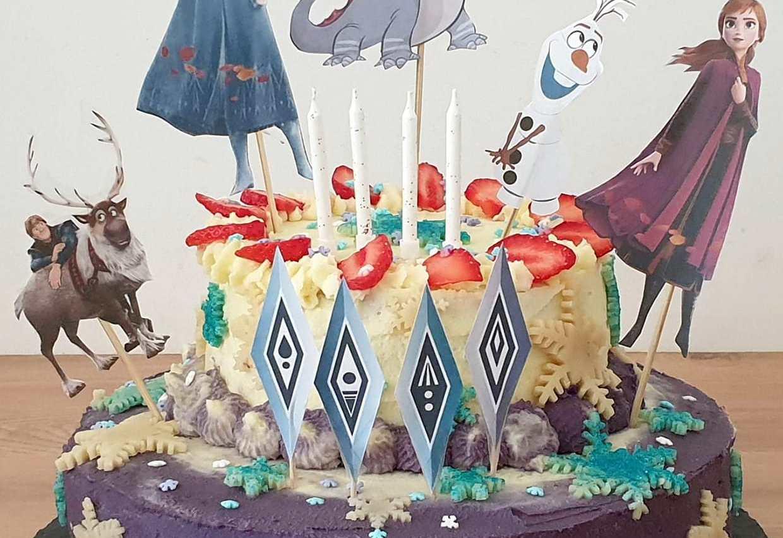 Gâteau anniversaire enfant Frozen