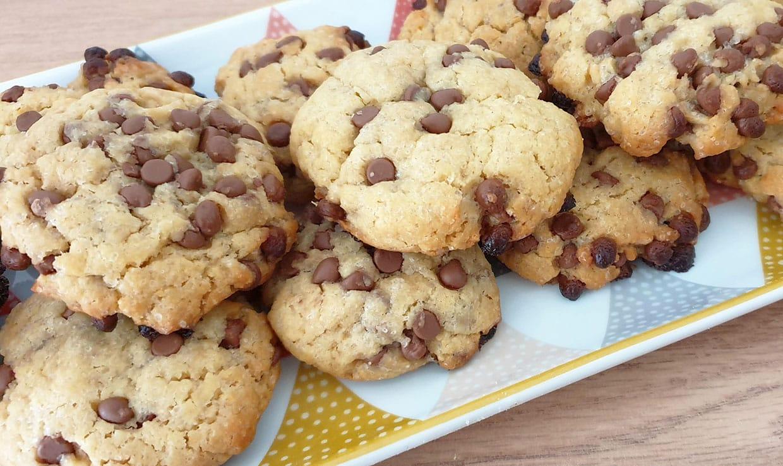Cookies pépites chocolat au lait et sirop d'érable
