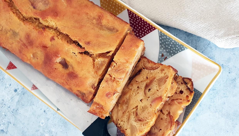 Cake pommes flambées Pineau