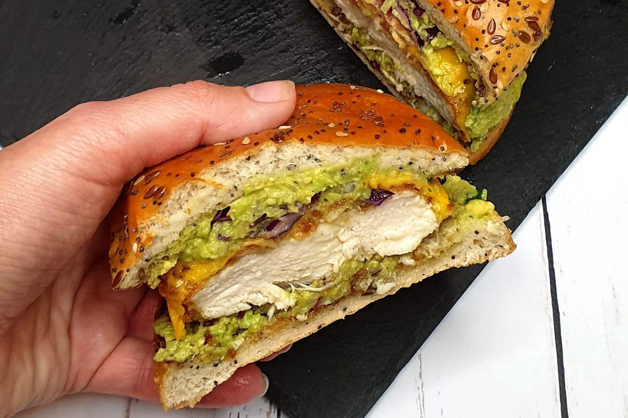Avocado chicken fait maison