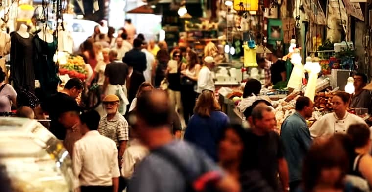 Así reaccionaron Chefs de todo el mundo al visitar el mercado de Majane Yehuda en Jerusalem. (Video de Domingo)