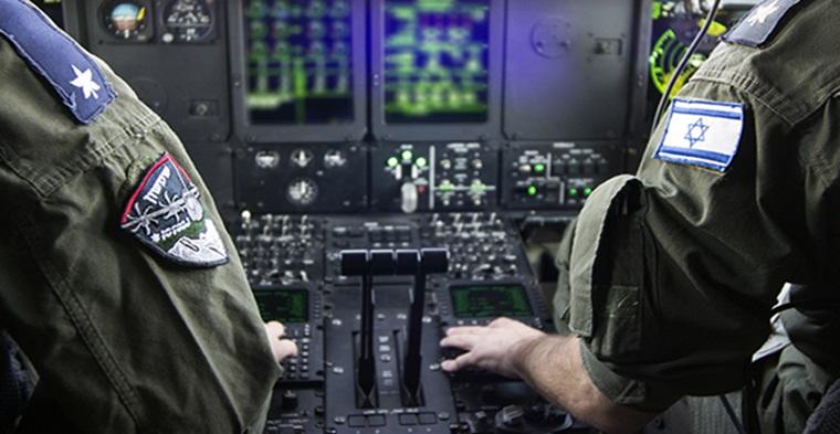 Vuelo de la fuerza aérea sobre Tel Aviv.  (Video de Domingo)