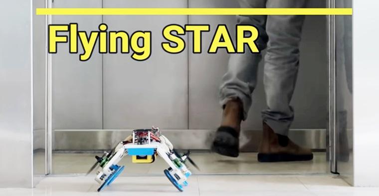 Será este el nuevo robot que usaran empresas como Amazon para hacer delivery?