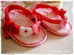 Infradito Baby Cuoricini